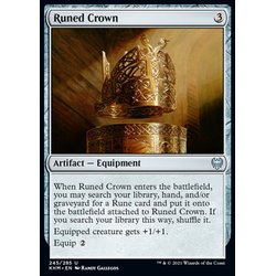 Magic löskort: Kaldheim: Runed Crown