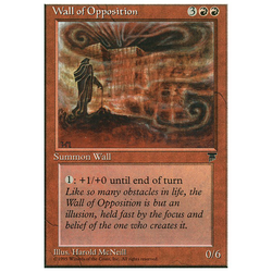Magic löskort: Chronicles: Wall of Opposition