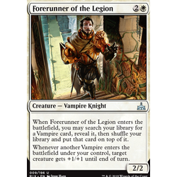 Magic löskort: Rivals of Ixalan: Forerunner of the Legion