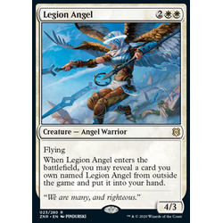 Magic löskort: Zendikar Rising: Legion Angel