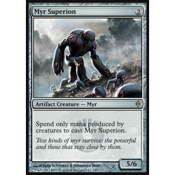 Magic löskort: New Phyrexia: Myr Superion