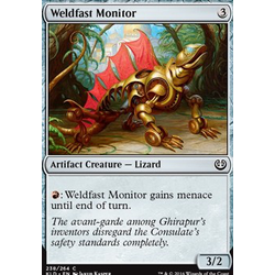 Magic löskort: Kaladesh: Weldfast Monitor