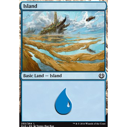 Magic löskort: Kaladesh: Island (Foil)