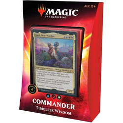 Magic The Gathering: Ikoria Commander Deck 2020 Timeless Wisdom