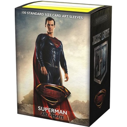 "Card Sleeves Standard Art ""Justice League - Superman"" 63x88mm (100 in box) (Dragon Shield)"