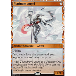 Magic löskort: Kaladesh Inventions: Platinum Angel