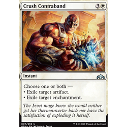 Magic löskort: Guilds of Ravnica: Crush Contraband