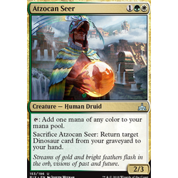 Magic löskort: Rivals of Ixalan: Atzocan Seer