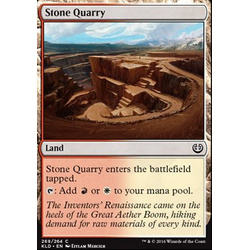 Magic löskort: Kaladesh: Stone Quarry