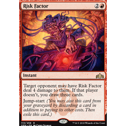 Magic löskort: Guilds of Ravnica: Risk Factor