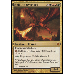 Magic löskort: Shards of Alara Hellkite Overlord
