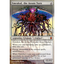 Magic löskort: Rise of the Eldrazi: Emrakul, the Aeons Torn (Prereleasefoil)