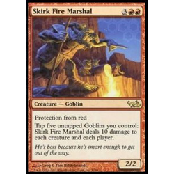 Magic löskort: Duel Decks: Elves vs Goblins: Skirk Fire Marshal