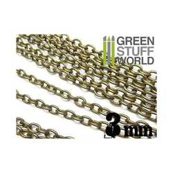 Green Stuff World -  Hobby chain 3 mm (metall)