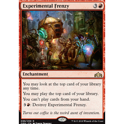 Magic löskort: Guilds of Ravnica: Experimental Frenzy