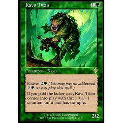 Magic löskort: Invasion: Kavu Titan