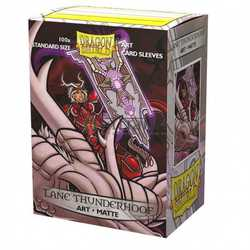 "Card Sleeves Standard Art ""Lane Thunderhooof: Portrait"" 63x88mm (100 in box) (Dragon Shield)"