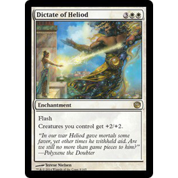 Magic löskort: Journey into Nyx: Dictate of Heliod (Foil)