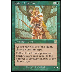 Magic löskort: Mercadian Masques: Caller of the Hunt