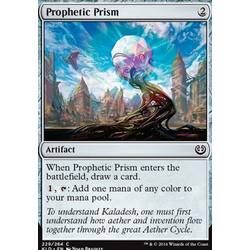 Magic löskort: Kaladesh: Prophetic Prism (Foil)