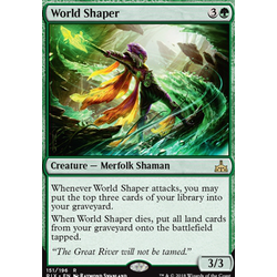 Magic löskort: Rivals of Ixalan: World Shaper