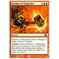 Magic löskort: 8th Edition: Hammer of Bogardan