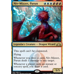 Magic löskort: Guilds of Ravnica: Niv-Mizzet, Parun