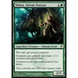 Magic löskort: New Phyrexia: Melira, Sylvok Outcast