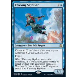 Magic löskort: Zendikar Rising: Thieving Skydiver