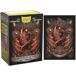 "Card Sleeves Standard Art ""Emperor Scion: Coat-of-Arms"" 63x88mm (100 in box) (Dragon Shield)"