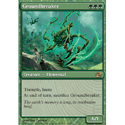 Magic löskort: Planar Chaos: Groundbreaker