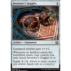 Magic löskort: Kaladesh: Inventor's Goggles