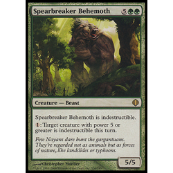 Magic löskort: Shards of Alara: Spearbreaker Behemoth