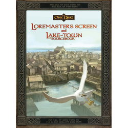 The One Ring: Loremaster's Screen and Laketown Sourcebook