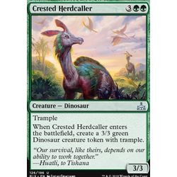 Magic löskort: Rivals of Ixalan: Crested Herdcaller