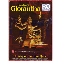 Runequest, 3d Ed: Gods of Glorantha, Box, 1985