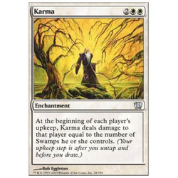 Magic löskort: 8th Edition: Karma