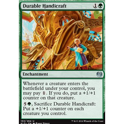 Magic löskort: Kaladesh: Durable Handicraft (foil)