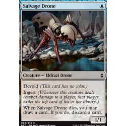 Magic löskort: Battle for Zendikar: Salvage Drone (foil)