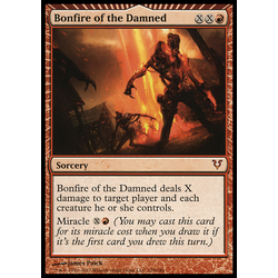 Magic löskort: Avacyn Restored: Bonfire of the Damned
