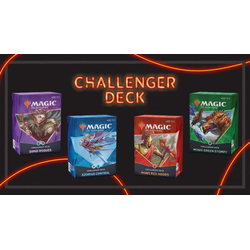 Magic The Gathering: Challenger Deck 2021 Bundle (4)