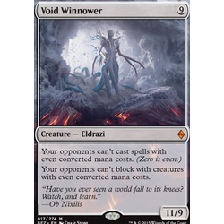 Magic löskort: Battle for Zendikar: Void Winnower