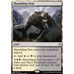 Magic löskort: Battle for Zendikar: Shambling Vent