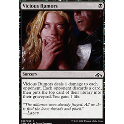 Magic löskort: Guilds of Ravnica: Vicious Rumors