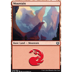 Magic löskort: Kaladesh: Mountain (Foil)