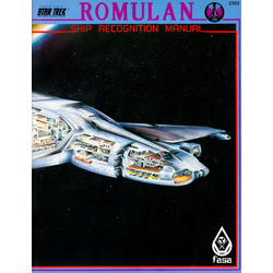Star Trek RPG: Romulan Ship Recognition Manual (1985)
