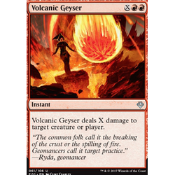 Magic löskort: Archenemy: Nicol Bolas: Volcanic Geyser