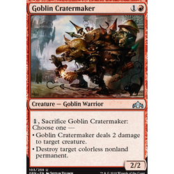 Magic löskort: Guilds of Ravnica: Goblin Cratermaker