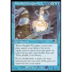 Magic löskort: Scourge: Parallel Thoughts