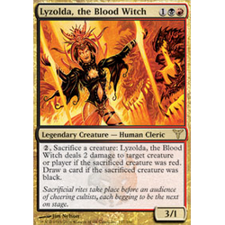 Magic löskort: Dissension: Lyzolda, the Blood Witch
